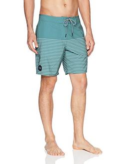 RVCA Men's Curren Trunk, Pine Tree, 34