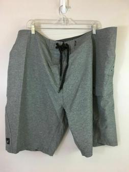 Men's Rip Curl Dawn Patrol Boardshorts, Grey, Size 44 Waist