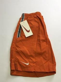 Men's Nike Drawstring Board Swim Beach Shorts Small *NEW WIT
