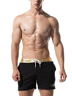 Neleus Men's Dry Fit Lightweight Swim Trunk Beach Shorts,725