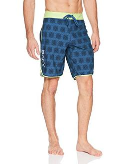 RVCA Men's Eastern Boardshort Trunk, Cobalt, 32