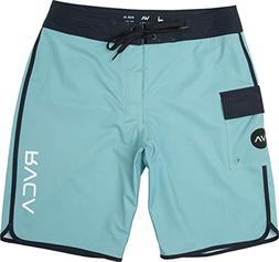 RVCA Men's Eastern Boardshort Trunk, New Navy, 30