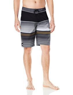 Quiksilver Men's Everyday Stripe Vee 21 Boardshort, Tarmac,