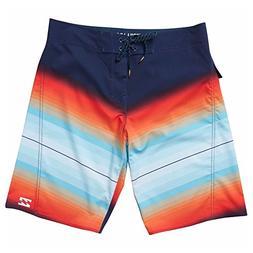 Billabong Men's Fluid X Boardshort, Orange, 42