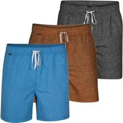 "Hurley Men's Heather Volley 17"" Boardshorts"