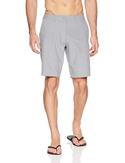 RVCA Men's Holidaze Hybrid Short, Slate, 32
