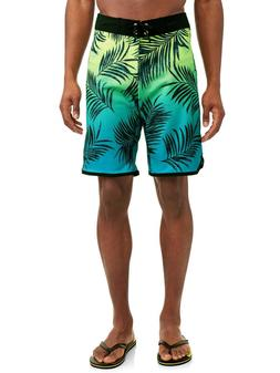 Men's Horizon Floral Stretch 9 Inch Boardshort