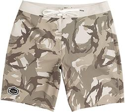 "RVCA Men's Islands Va 19"" Boardshort Desert 32"