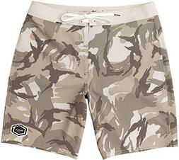 "RVCA Men's Islands Va 19"" Boardshort Desert 34"