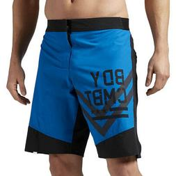 Men's LES MILLS BODYCOMBAT Cordura Board Shorts Wicking Work