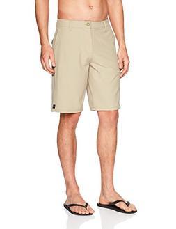 Rip Curl Men's Mirage Boardwalk Hybrid Short, Khaki , 34