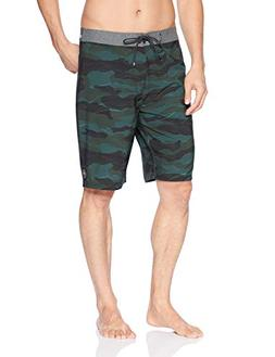 Rip Curl Men's Mirage Chambers Boardshort, camo, 34