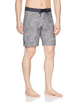 Rip Curl Men's Mirage Preset Boardshort, Grey , 34