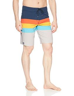 Billabong Men's Momentum X Boardshort, Orange, 31