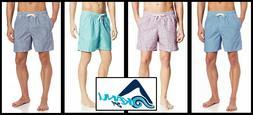 Kanu Surf Men's Monaco Swim Trunks 9061 Navy Coral Ocean Nav