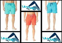 Kanu Surf Men's Montague Swim Trunks, 3460 - Red, Green, Blu