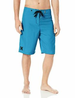 Hurley Men's One and Only 22 Inch Boardshort, Cyan/Hurley, 3