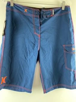 """Hurley Men's One and Only Supersuede 22"""" Boardshort Size 30x"""