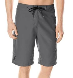 Hurley Men's One and Only Supersuede Boardshort, Anthracite