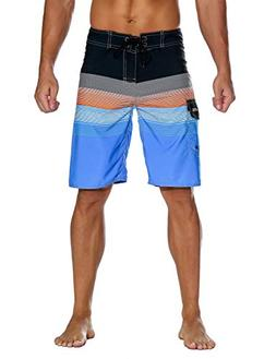 Unitop Men's Outdoor Water Sports Board Shorts Orange 42