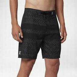 "Hurley Men's Phantom Blackball Kai 18"" Boardshorts - Black"