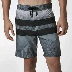 "Hurley Men's Phantom Blackball Lush 18"" Boardshorts - Black"