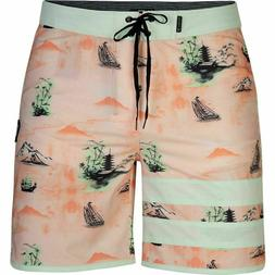 "Hurley Men's Phantom Block Party Eastern Seas 18"" Boardshort"