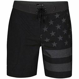 Hurley Men's Phantom Cheers 18 in Boardshorts, Black , 28