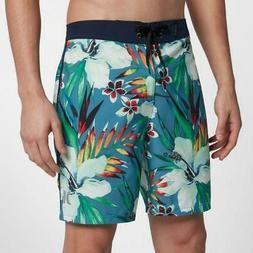 """Men's Hurley Phantom Garden 18"""" Boardshorts 927346-407 Flora"""