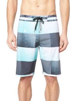Hurley Men's 'Phantom Kingsroad' Board Shorts, Blue/green Si