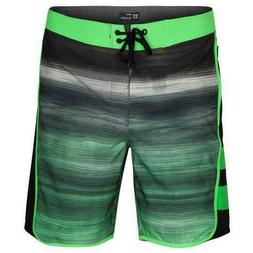 "Hurley Men's Phantom Motion Fast 18"" Boardshorts Rage Green"