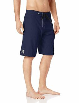 "Hurley Men's Phantom One and Only 21"" Boardshorts Midnight N"