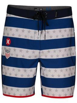 Men's Hurley Phantom USA Home National Team White Boardshort