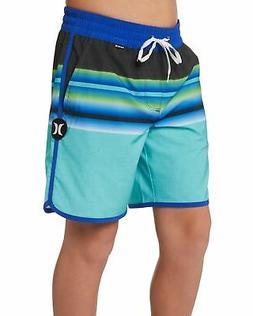 """Hurley Men's Phantom Zen 17"""" Volley Boardshorts - Tropical T"""