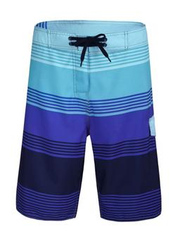 Nonwe Men's Polyester Surfer Sports Boardshorts 11920-36