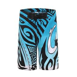 Clothin Men's Quick Dry Surfing Boardshorts with Pocket