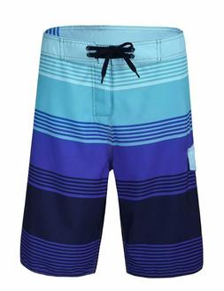 Nonwe Men'S Quick Dry Wave Pattern With Mesh Lining Board Sh
