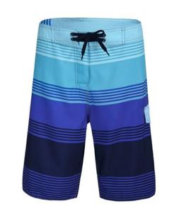 Nonwe Men's Quick Dry Wave Pattern w/Mesh Lining Board Short
