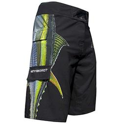 men s side to fishing stretch boardshorts