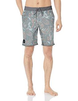 RVCA Men's SIEGEL Trunk, Dusty Blue, 31