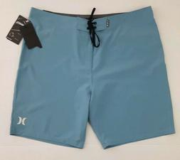 "Hurley Men's Size 40 Phantom One and Only 20"" Boardshorts Bl"