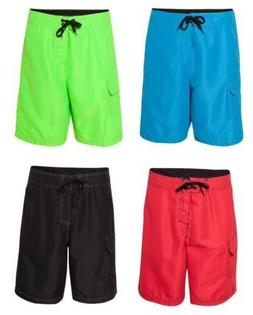 Burnside Men's Solid / Heather Board Shorts, Swim, Beach, Sl
