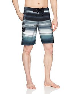 """Speedo Men's Spector Blend Boardshort 21"""" Bottom, Deep Steel"""