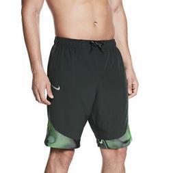 """Nike Men's Surge 9"""" Volley Tie Dye Swim Trunks Board Shorts"""