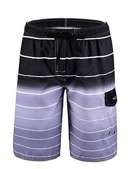 "Hopgo Men's Swim Trunks 22"" Quick Dry Beach Shorts Boardshor"