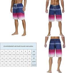 Unitop Men'S Swim Trunks Classic Lightweight Board Shorts Wi