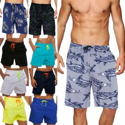 Men's Swimming Board Shorts Quick Dry Swim Running Shorts Tr