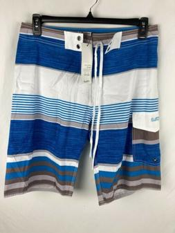 Nonwe Men's Sz 32 Board Shorts Swim Trunks Multi Color NWT S