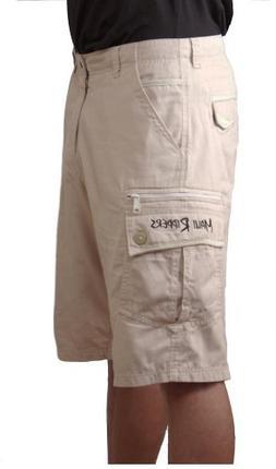 Maui Rippers Men's Tan Cargo Shorts