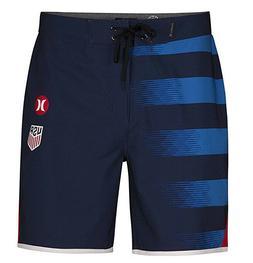 "Men's HURLEY USA Away National Team 18"" Board Shorts boardsh"